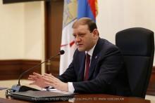 Тарон Маргарян: С улучшением погодных условий мы должны будем реализовать широкомасштабные работы