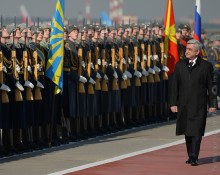 PRESIDENT SERZH SARGSYAN HAS ARRIVED TO THE RUSSIAN FEDERATION ON OFFICIAL VISIT