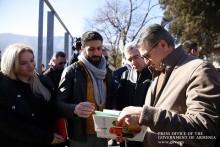 Премьер-министр посетил Лорийскую область: дом Микаела Арамянца будет отреставрирован
