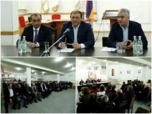 Taron Margaryan met with most active  members of RPA Ajapnyak territorial organization