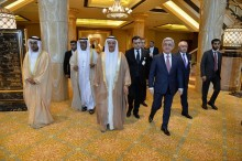 PRESIDENT SERZH SARGSYAN PARTICIPATED AT THE ARMENIAN-EMIRATES INVESTMENT FORUM