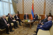 PRESIDENT SERZH SARGSYAN RECEIVED THE CO-CHAIRS OF THE OSCE MINSK GROUP