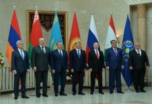 PRESIDENT PARTICIPATED AT THE INFORMAL MEETING OF THE HEADS OF THE CSTO MEMBER STATES