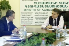 Each item of expenditure, any decision should be followed by a numeric answer - Karen Karapetyan Visits Ministry of Agriculture
