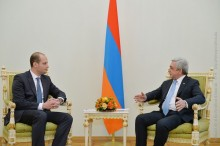 PRESIDENT RECEIVED THE MINISTER OF FOREIGN AFFAIRS OF GEORGIA