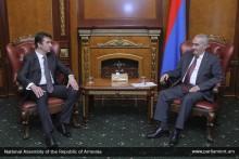 Г.Саакян принял новоназначенного посла Сербии в Армении