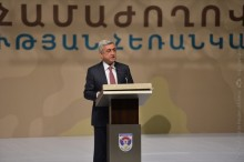 PRESIDENT SERZH SARGSYAN PARTICIPATED AT THE NATION-ARMY-2017 FORUM