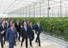 PRESIDENT SERZH SARGSYAN FAMILIARIZED WITH THE ONGOING ACTIVITIES OF SPAYKA COMPANY AND DEVELOPMENT PROGRAMS