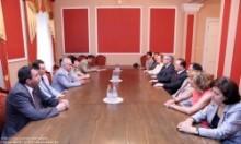 ԱԺ ՀՀԿ խմբակցության անդամները հանդիպեցին ֆրանսիական Բուրգ լե Վալանս քաղաքի պատվիրակությանը