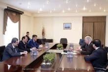 "Mayor Taron Margaryan meets with representatives of ""Grand Thornton"" company"