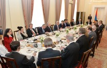 PRESIDENT SERZH SARGSYAN MET WITH THE AMBASSADORS OF THE OSCE MEMBER STATES