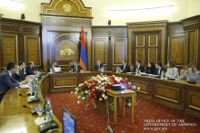 Prime Minister Reviews Armenia's Digital Development Strategy Prospects