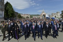 SERZH SARGSYAN PARTICIPATED AT THE FESTIVE EVENTS IN ARTSAKH
