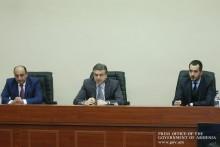 Премьер-министр представил аппатату Фонда развития Армении новоназначенного исполнительного директора