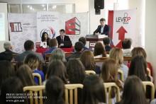 Վարչապետը ներկա է գտնվել «Level Up» միջազգային ուսանողական գիտաժողովին