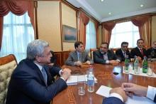 Նախագահն ընդունել է «Հայաստանի գիտատեխնիկական հիմնադրամ» ծրագրի ներկայացուցիչներին