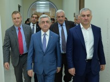PRESIDENT ATTENDS CENTER OF EXCELLENCE OPENING AT POLYTECHNIC UNIVERSITY