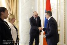 Премьер-министр принял делегацию Германского банка развития (KfW)