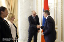 PM Receives German Development Bank (KfW) Delegation