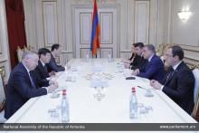 А.Баблоян принял посла Казахстана в Армении
