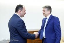 Премьер-министр встретился с Первым вице-премьером Грузии