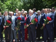 PRESIDENT PAYS TRIBUTE TO MEMORY OF STATESMAN, POLITICIAN ANDRANIK MARGARYAN