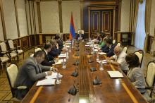 Նախագահի մոտ տեղի է ունեցել խորհրդակցություն ՝ նվիրված Հայաստան-սփյուռք վեցերորդ համաժողովի նախապատրաստմանը