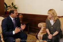 Քաղաքապետ Տարոն Մարգարյանը հանդիպել է Մոսկվայի քաղաքապետի տեղակալի հետ