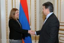 Обсужден ряд вопросов расширения армяно-британского сотрудничества