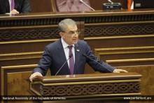 Выступление Председателя НС А.Баблояна на обсуждении программы Правительства РА