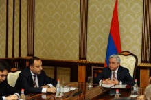 PRESIDENT HOLDS CONSULTATION ON ARMENIAN-RUSSIAN COOPERATION AGENDA