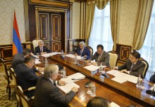 PRESIDENT SERZH SARGSYAN CONVENES NATIONAL SECURITY COUNCIL MEETING