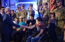 Նախագահը կաջակցի ստեղծվող զինհաշմանդամների և վիրավոր զինվորների վերականգնողական կենտրոնին