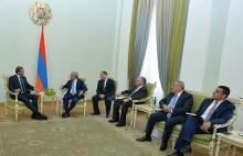 Նախագահն ընդունել է ԱՄԷ արտաքին գործերի և միջազգային համագործակցության նախարարին