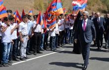 Արցախը Հայաստանին կապող կենսական նշանակության երկրորդ միջանցքը պաշտոնապես բացվեց