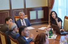 Բարձրաստիճան պաշտոնատար անձանց էթիկայի հանձնաժողովի աշխատանքային հանդիպումը՝ Բաղրամյան 26-ում