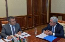 Նախագահը խորհրդակցություն է անցկացրել հայ-չեխական և հայ-սլովակյան տնտեսական համագործակցության օրակարգի հարցերի շուրջ
