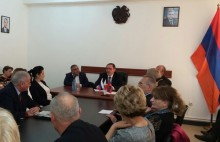 Meeting with Ambassador of the Russian Federation