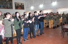 Студенты поддерживают солдат: инициатива Молодежной организации РПА и студентов АГЭУ