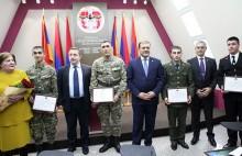 Молодежная организация РПА вручает именные стипендии студентам, получающим военное образование
