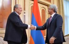 Արմեն Սարգսյանն ընդունել է ՀՀ նախագահի թեկնածու առաջադրվելու ՀՀԿ առաջարկը