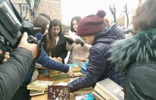 Book Donation Day in Vanadzor