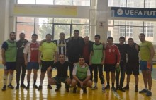 Football match organized by the RPA Youth Organization