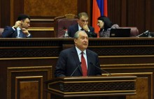 Republican Party Candidate Armen Sargsyan was elected the 4th President of the Republic of Armenia