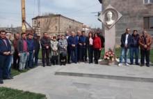 Tribute to Ashot Navasardyan's memory in Sisian