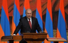 Armen Sarkissian assumes the office of President of the Republic of Armenia