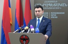 Executive Body of the Republican Party of Armenia to nominate Serzh Sargsyan's candidacy for the position of the Prime Minister