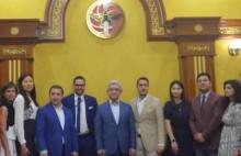 ՀՀԿ նախագահն ընդունել է IYDU պատվիրակներին