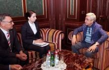ՀՀԿ նախագահն ընդունել է Կոնրադ Ադենաուեր հիմնադրամի տարածաշրջանային տնօրենին