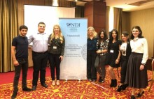 Political Organization and Propaganda: Members of the Youth Organization of the Republican Party of Armenia (RPA) participated in NDI training